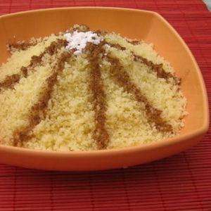 couscous sucré à la cannelle (seffa)