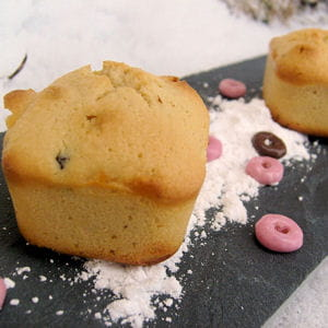 financiers à la confiture de lait