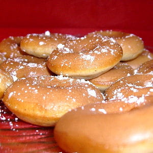donuts aux abricots secs et chocolat blanc