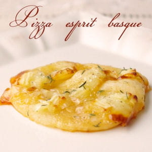 mini pizza esprit basque