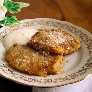 ananas poêlé caramel au beurre salé
