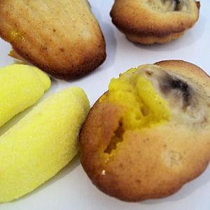 madeleines aux deux bananes