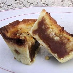 tartelettes au caramel beurre salé façon crumble