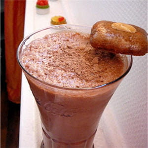 milk-shake au nutella