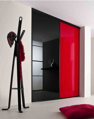 des portes coulissantes pratiques et design journal des femmes. Black Bedroom Furniture Sets. Home Design Ideas