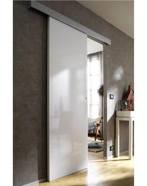 Laqu blanc des portes coulissantes pratiques et design journal des femmes - Castorama porte coulissante ...