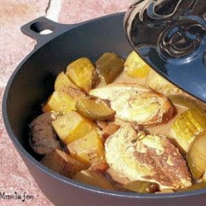 tajine de courgettes au poulet