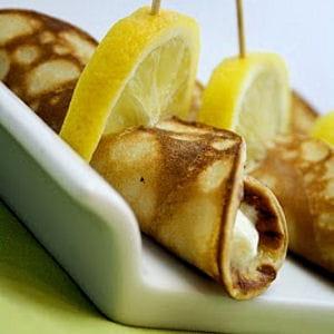 crêpe ricotta-citron
