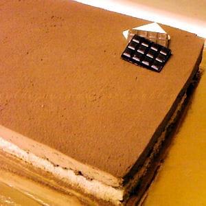 craquant au chocolat mousseux (royal ou trianon)