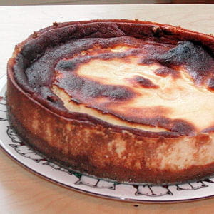gâteau au fromage blanc (kasekuchen)