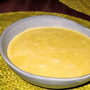 soupe de fève au lard fumé