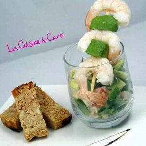 cocktail avocat-crabe