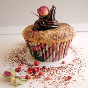cupcakes chocolat poivre rose