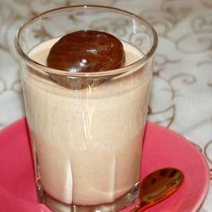 panna cotta à la crème de marrons