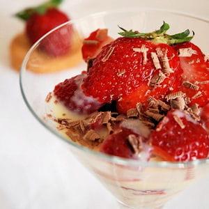 fraises à l'anglaise