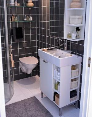 a port e de main j 39 am nage ma petite salle de bains. Black Bedroom Furniture Sets. Home Design Ideas