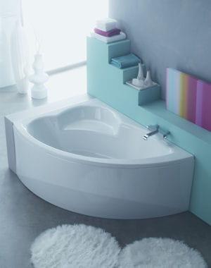 En angle j 39 am nage ma petite salle de bains journal - Baignoire d angle petite dimension ...