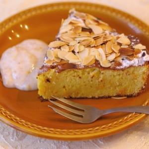gâteau sicilien à l'orange et aux amandes