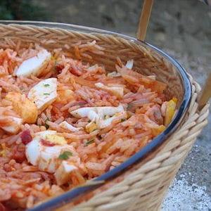 riz de thon à la tomate