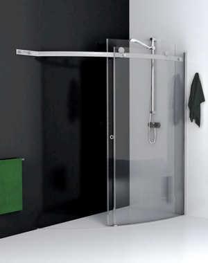 version xxl douche l 39 italienne l gance dans la salle de bains journal des femmes. Black Bedroom Furniture Sets. Home Design Ideas