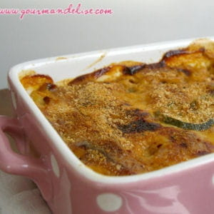 lasagnes de courgettes à la bolognaise