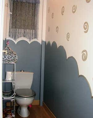 Jolie fantaisie de bien jolis p 39 tits coins journal des for Repeindre les toilettes
