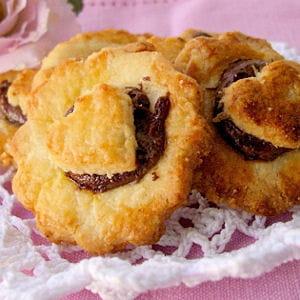 sablés au coeur de nutella
