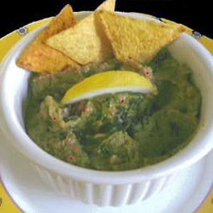 guacamole de légumes