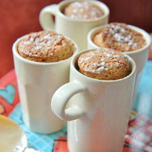 soufflés pommes-poires et biscuits