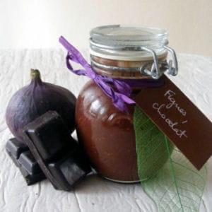 confiture de figues au chocolat