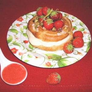 paris-brest à la crème de citron et aux fraises