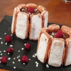 charlotte chocolat-framboise