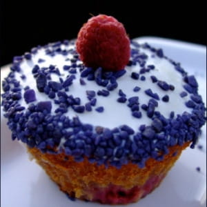 cupcakes framboise-violette