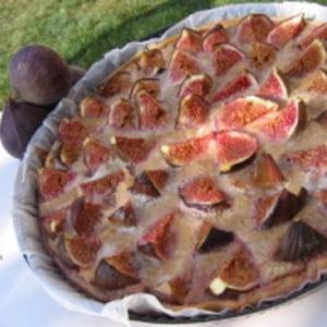 tarte aux figues et noix