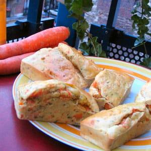 mini-cakes à la carotte, curry et amande