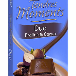 milka tendres moments duo praliné et cacao