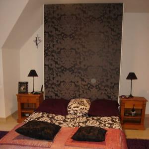 Installer une jolie t te de lit questions de lectrices r ponse d 39 une d - Comment installer une tete de lit ...