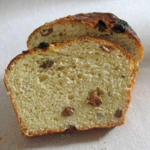 cramiques aux raisins à la machine à pain