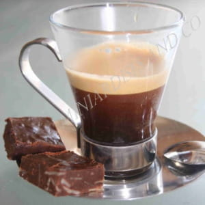 fudge au chocolat noir