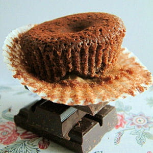 cupcakes moelleux au chocolat coeur framboise
