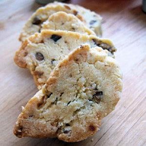 biscuits à la châtaigne et au parmesan