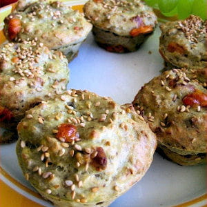 bouchées aubergine-mimolette