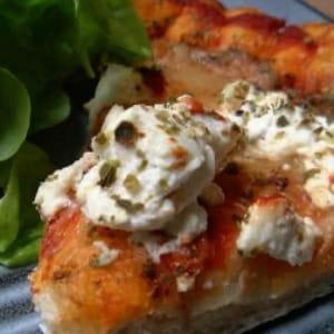 délicieuse pizza au fromage