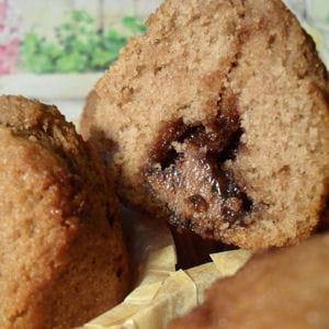 muffins pâte à tartiner ovomaltine