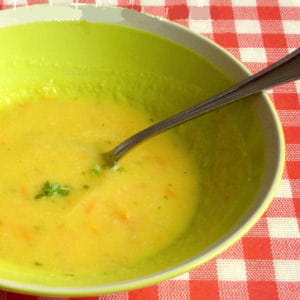 soupe express de tomates