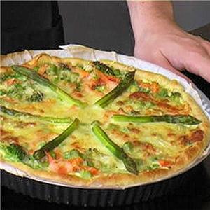 tarte aux légumes de saison