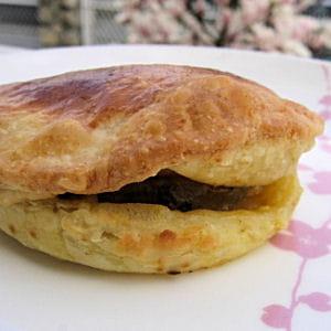feuilleté de foie gras aux pommes