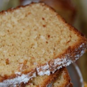 cake à la noix de coco et au beurre de cacahuète