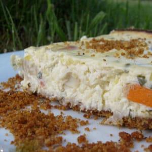 cheesecake poireaux saint-jacques