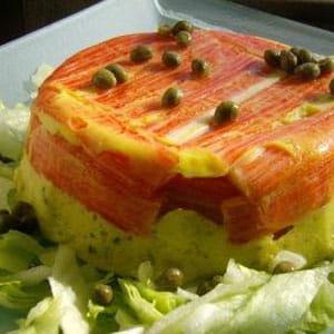 terrine de surimi aux poireaux